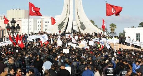 Manifestation à Tunis, 31 janvier 2013 / REUTERS