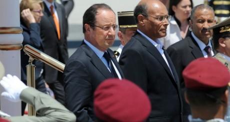 Arrivée de François Hollande en Tunisie, 4 juillet 2013 / AFP