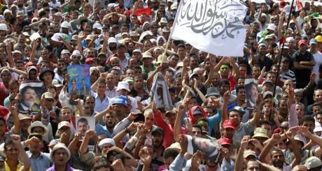 Manifestation des Frères musulmans, Le Caire, 8 juillet 2013 / Reuters