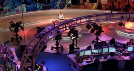 Salle de rédaction d'Al-Jazeera à Doha, Qatar, 2011 / Flickr CC