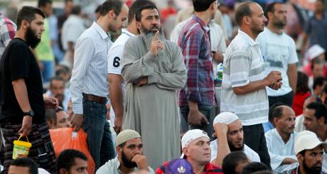 Des membres des Frères musulmans, Le Caire, 10 juillet 2013 / Reuters