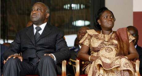 Les époux Gbagbo à Abidjan, 2009 / REUTERS