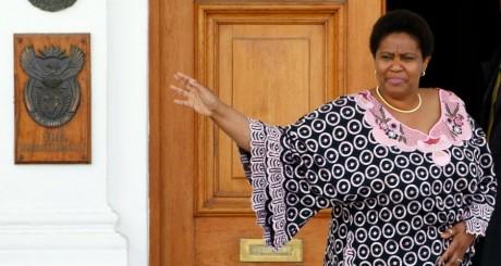 Phumzile Mlambo-Ngcuka, Le Cap, 2008 / REUTERS