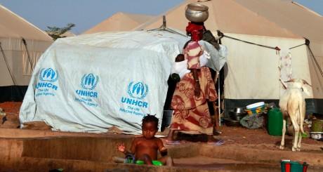 Réfugiés maliens à Sevare, Mali, 2013 / REUTERS