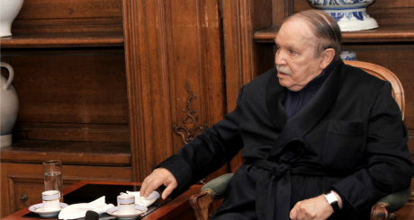 Abdelaziz Bouteflika, PAris, 12 juin 2013 / AFP
