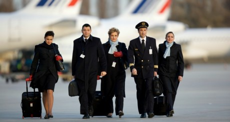 Personnel navigant commercial d'Air France © Air France corporate