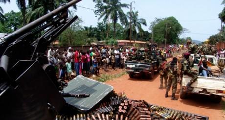 Patrouille de la Séléka, Bangui, mars 2013 / Reuters