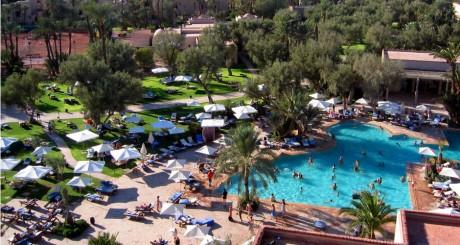 Hôtel français à Marrakech, 2005 / REUTERS