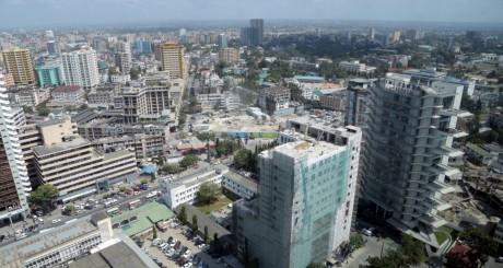 Buildings dans le centre-ville de Dar-es-Salam, Tanzanie / Reuters