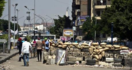 Des pro-Morsi près de l'université du Caire, 24 juillet 2013 / AFP