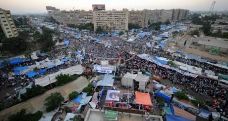 Sit-in des pro-Morsi au Caire, 25 juillet / AFP