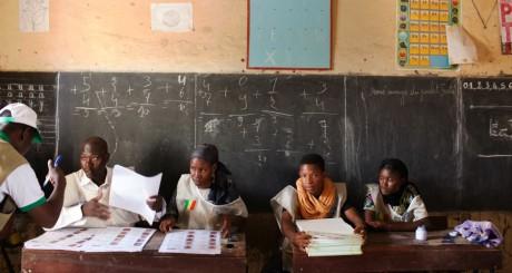 Bureau de vote à Tombouctou, Mali, 28 juillet 2013 / REUTERS