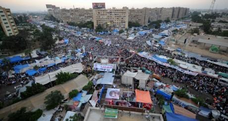 Sit-in des Frères musulmans, Le Caire, 25 juillet / AFP