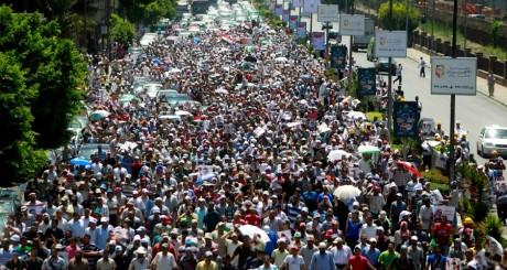Manifestations pro-Morsi, Le Caire, 30 juillet 2013 / Reuters