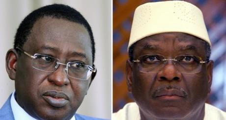 Soumaïla Cissé et Ibrahim Boubacar Keita / AFP