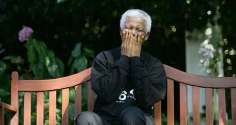 Nelson Mandela en mars 2005, Le Cap / REUTERS