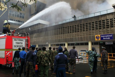 Aéroport de Nairobi, au Kenya , le 7 août 2013 REUTERS/Noor Khamis