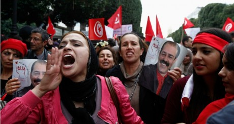 Manifestation à Tunis, 9 mars 2013 / REUTERS