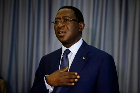 Soumaïla Cissé, le 13 août, Bamako. REUTERS/Joe Penne