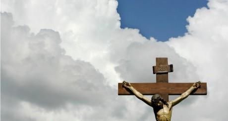 Statue du Christ à Oviedo, Espagne, 2007 / REUTERS