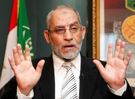 Mohamed Badie,  le 23 décembre 2010, au Caire. REUTERS/Asmaa Waguih