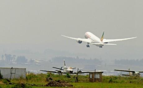 Décollage d'un avion, Ethiopie.REUTERS/Tiksa Negeri