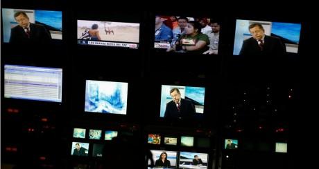 Ecrans de télévision, 2013 / REUTERS