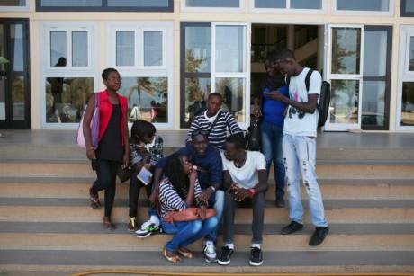 Université Cheikh Anta Diop, Dakar, Sénégal. REUTERS/Joe Penney