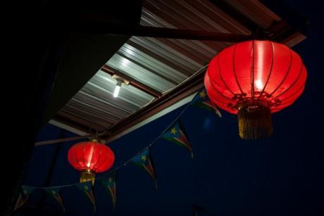 Lanternes chinoises au Sud-Soudan. REUTERS/Adriane Ohanesian