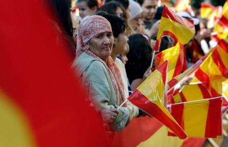 visite du roi Juan Carlos, le 5 novembre 2007, au Maroc. REUTERS/Anton Meres