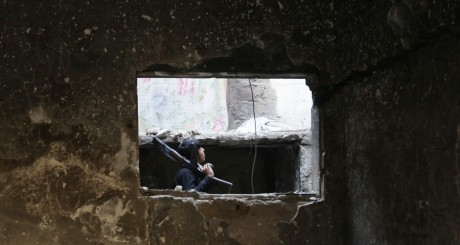 Un soldat de l'Armée libre syrienne, 3 septembre 2013 / Reuters