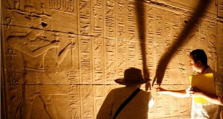 Temple de Fiela à Aswan, 25 avril 2009 / REUTERS