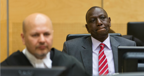 William Ruto au tribunal international de La Haye, 10 septembre 2013 / REUTERS