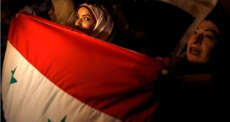 Manifestantes syriennes au Caire, 1er septembre 2013 / REUTERS