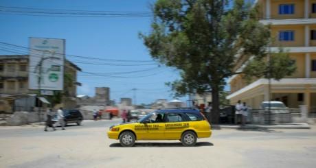 Une artère de Mogadiscio, septembre 2013 / AFP