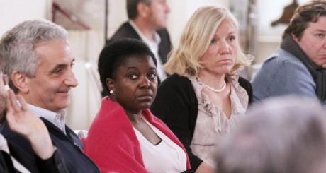 Cécile Kyenge lors d'un séminaire gouvernemental, Rome, mai 2013 / AFP