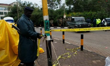Prise d'otage dans un centre commercial de Nairobi, au Kenya, le 23 septembre 2013. REUTERS/Thomas Mukoya