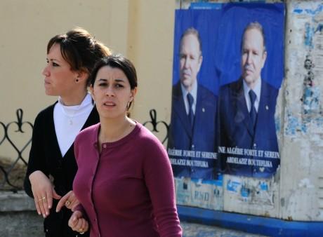 Bejaia, à 250 kilomètres d'Alger, le 25 mars 2009. FAYEZ NURELDINE / AFP