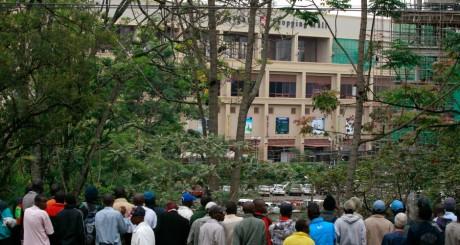 Une vue du Westgate mall de Nairobi, après l'attaque des shebab, 21 septembre 2013 / Reuters