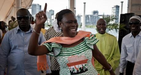 Simone Gbagbo, Abidjan, mars 2011 / AFP