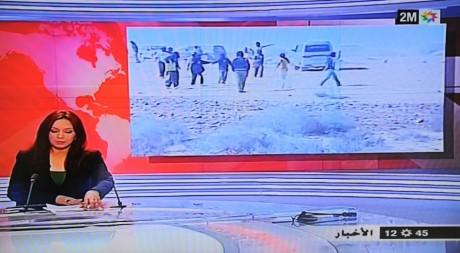 Capture d'écran chaîne marocaine 2M. HO / 2M TV / AFP