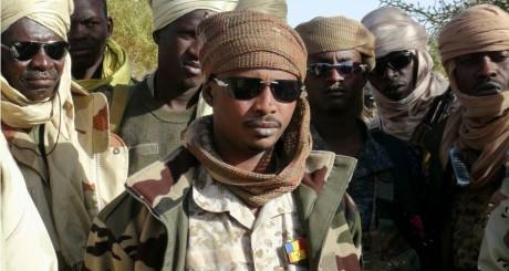 Soldats tchadiens à Kidal, le 8 février 2013 / REUTERS