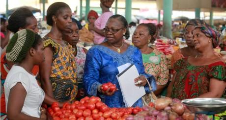 Membres de l'association des Femmes chercheuses, Abidjan, 4 mars 2013 / REUTERS