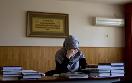 Etudiante en droit islamique, Grozny, 1er mai 2013. REUTERS/Maxim Shemetov
