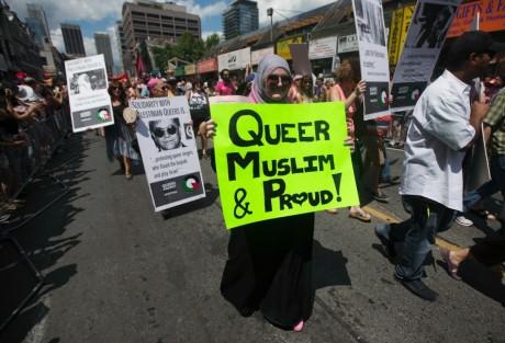 Gay Pride, Toronto, 1er juillet 2012. REUTERS/Mark Blinch