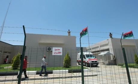 Prison al-Adba, Tripoli, le 26 mai 2012. REUTERS/Ismail Zitouny