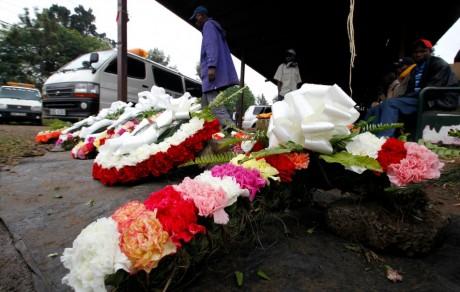 Hommage aux victimes de l'attaque du Westgate mall, Narobi, 25 septembre 2013. REUTERS/Thomas Mukoya