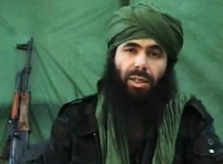 Abdelmalek Droukdel, chef d'Aqmi, 26 juillet 2010. HO / AFP