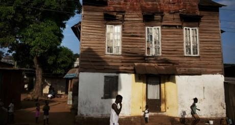 Ancienne maison coloniale, Sierra Leone / Reuters