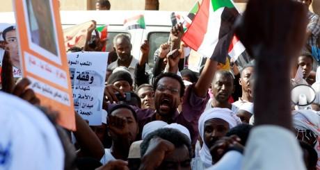 Manifestation à Karthoum, Soudan, octobre 2013 / REUTERS